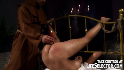 BDSM exorcism of Angel Rivas