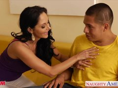 Preview 3 of Horny Mom Ava Addams Gets Big Jugs Fucked