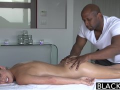 Preview 2 of Ebonyed Hot Southern Blonde Cherie Deville Takes Big Ebony Cock