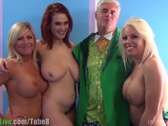 St Patrick s pornstar orgy party  Vol 1