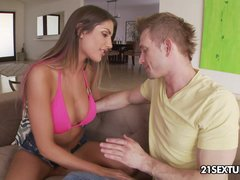 Preview 2 of Smoking Hot August Ames Enjoys A Good Hardcore Sex
