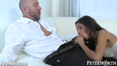 4K Tiny4K - Petite latina Brittany Bliss gets fucked in drenched hole
