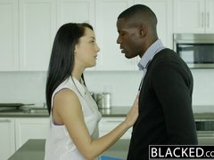 Preview 2 of Ebonyed Husband Does Not Know Wife Sabrina Banks Loves Bbc
