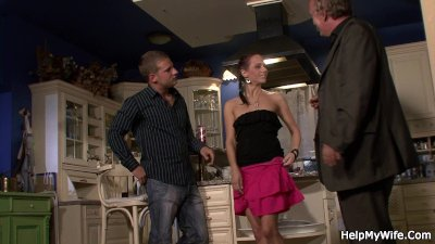 Czech girl is fucked by her husband friend