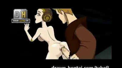 Star Wars Porn - Padme loves anal