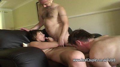 Wife sharing threesome