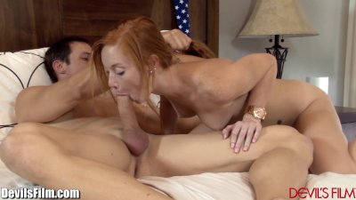 Redhead Teen Alex Tanner Losing Innocence