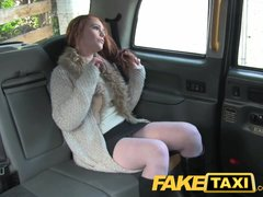 Preview 6 of Faketaxi Redhead With Big Hairy Pussy