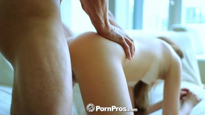 HD PornPros - Little Kaylee Haze has her drenched pussy fucked
