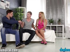 Preview 2 of Bisexual Cuckold For Czech Couple