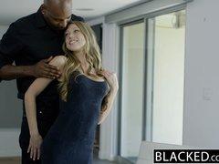 Preview 3 of Ebonyed Petite Blonde Screams On Huge Ebony Dick