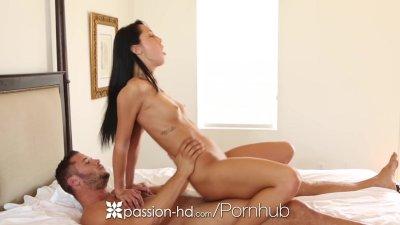 HD Passion-HD - Sabrina Banks masturbates and her man takes over