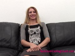 Preview 2 of Smart Blonde, Dumb Choices - Painal And Ambush Creampie