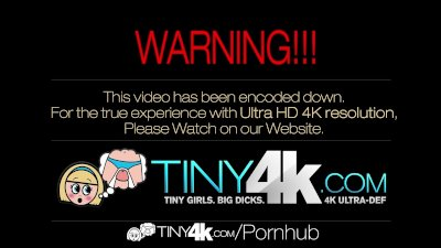 4K Tiny4K - Jenna Ross stretches her pussy for a huge dick