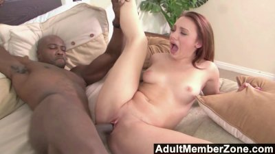 Tight white girl for a big black man