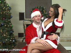 Preview 1 of Pornstars Peta Jensen And Johnny Sins Have Some Cam Fun Part1