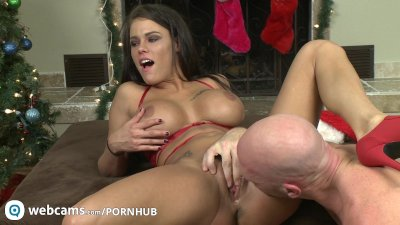 Pornstars Peta Jensen and Johnny Sins have some cam fun Part4