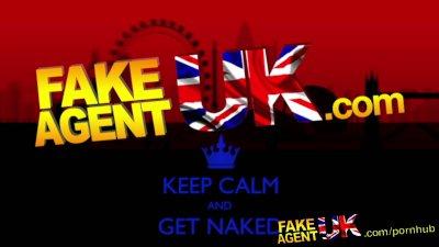 FakeAgentUK Face full of cum for naive british amateur