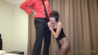 Car Park Asian Ladyboy