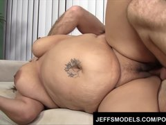 Preview 6 of Toosie's Plump Latina Pussy Gets Probed By An Old Guy's Dick