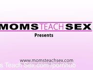 MomsTeachSex His step mom fucks better than his girlfriend