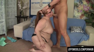 Sexy BBW Julie Ann More gets f