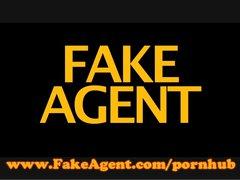 FakeAgent English amateur aces casting interview