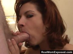 Sexy mom fucking the neighbour in a motel room