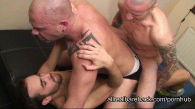 Bareback Threesome Pt 2