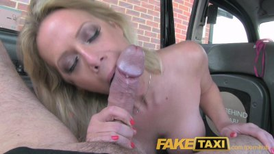 FakeTaxi Cheating girlfriend tries anal sex in taxi