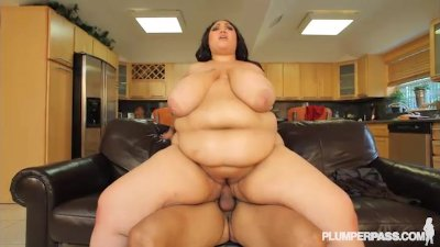 SSBBW Anastasia Fucks Hubbys Friend while he is away