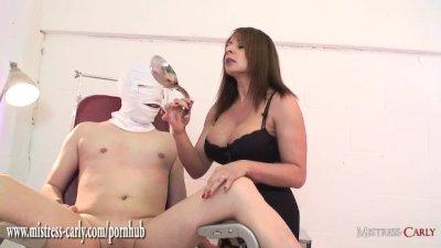 Busty nurse Mistress fits spun