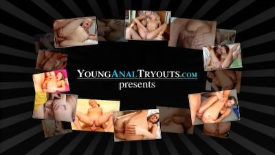 Young Anal Tryouts - Claire is a young and sexy brown haired beauty
