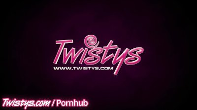 Twistys - Two hot blondes rub there perfect pussies