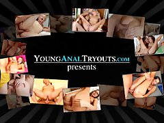 Young Anal Tryouts   Sally wants to taste her mans cum
