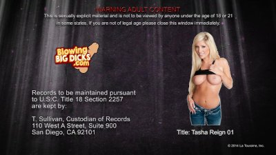 Hot Tasha Reign take a giant d