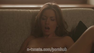 Hot Euro Babe Fucks Her Pussy With a Toy