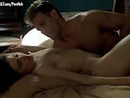 Caroline Ducey - Softcore scene from Romance with Rocco Siffredi