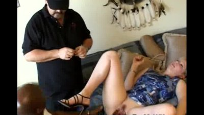 Wifey Gets Banged By A Black Stud As Husband Watches