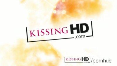 Kissing hd Cute girl next door kisses and sucks big boobs of horny lesbian