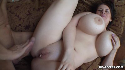 Chubby babe loves riding a hard cock