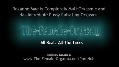 Hot MultiOrgasmic Babe Masturbates to Numerous Pussy Pulsating Orgasms