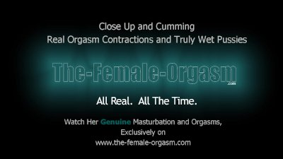Wet Pussy Close Up Masturbation to Real Pulsating Orgasms