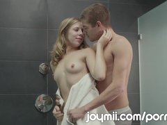 Chastity Lynn Is A Dirty Girl After A Clean Shower Fucking In The Bathroom