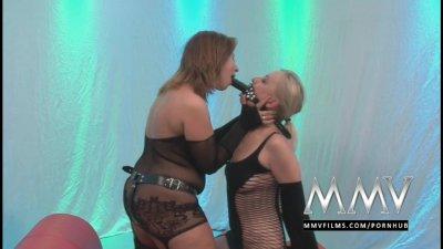 MMVFilms Two cum loving German bukkake sluts