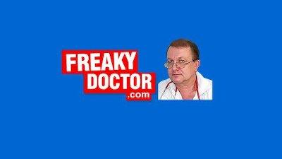 Awesome blonde Uma Zex harassed by old gyno medic