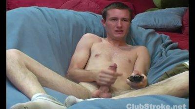 Skinny Straight Guy Mikey Masturbating