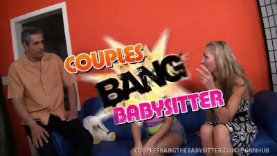 Teen Babysitter Fucked By Swinger Couple!