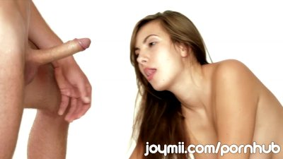 Voluptuous Connie Carter Sensuously Blow BF and Lets Him Creampie Her