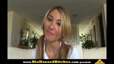 BioHazard Bitches - Roxy Rough Blowjob